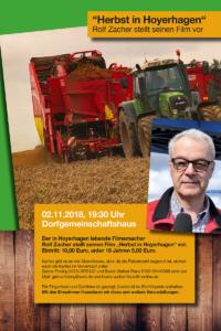"""""""Herbst in Hoyerhagen"""" - Ein Film von Rolf Zacher, 02.11.2018"""