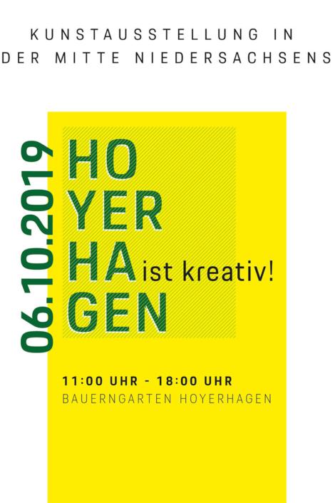 Kunstausstellung Hoyerhagen, 06.10.2019