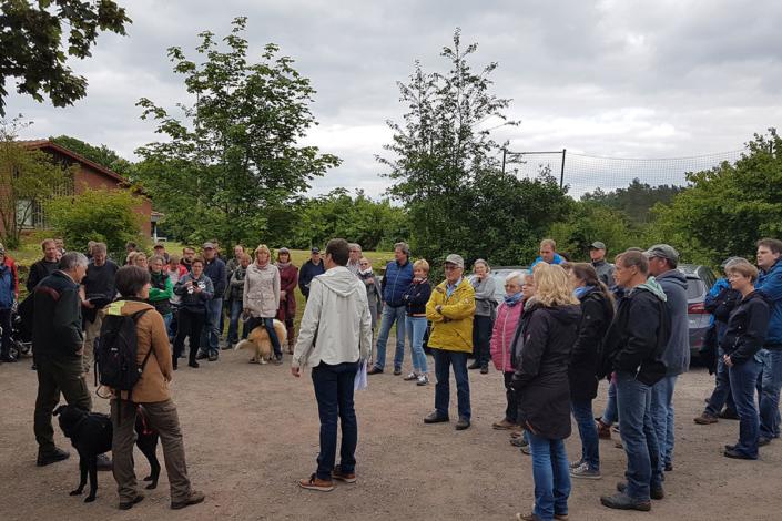 Waldführung Hoyerhagen, 02.03.2019